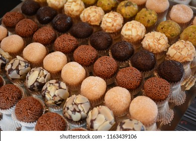 Gourmet brigadeiro - different flavours