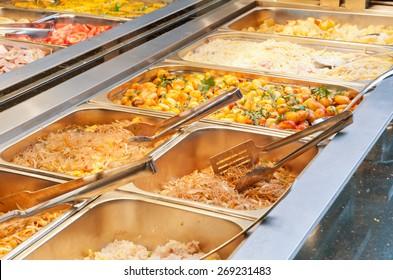 Gourmet buffet