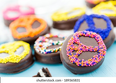 Sandwich Chocolate Sprinkles Images, Stock Photos & Vectors