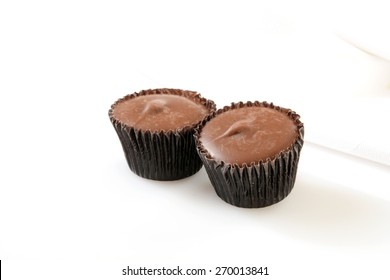 Gourmet chocolate covered peanut butter cups