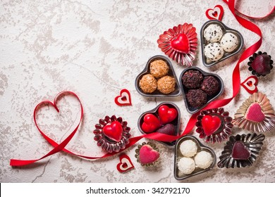 Gourmet chocolates for Valentine's Day