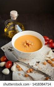 gourmet cuisine vegetable pumpkin creamy