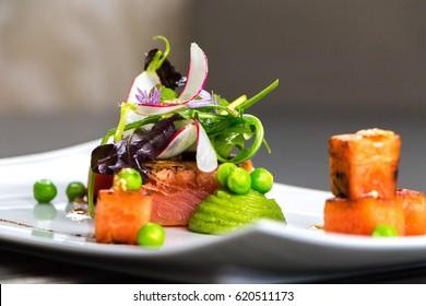 Gourmet dish