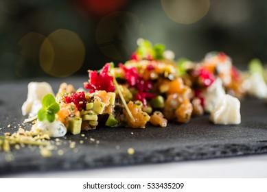 gourmet food