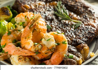 Gourmet Homemade Steak and Shrimp Surf n Turf