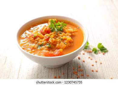 gourmet lentil soup
