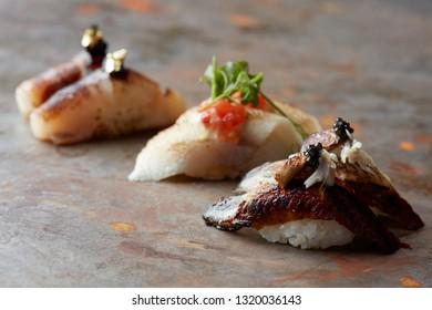 Gourmet Nigiri sushi