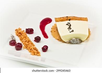 Gourmet Plated Dessert