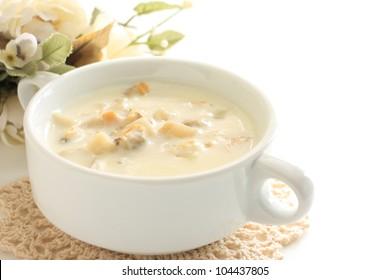 Gourmet soup, Clam chowder