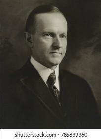 Gov. Calvin Coolidge of Massachusetts in 1920 as Republican nominee for Vice President. Photo by John H. Garo, Boston