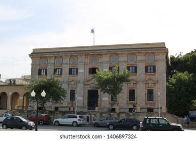 A government building, Rhodes, Dodecanese Islands, Greece/Rhodes Island-Greece 05/16/2019