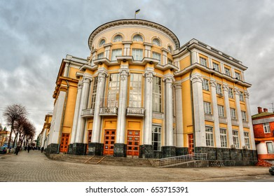 Government building in Vinnytsia (Ukraine), HDR-technique