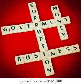 Image result for corrupt government holding cash