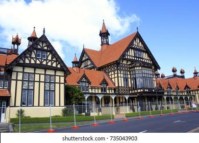 Government Gardens in Rotorua New Zealand