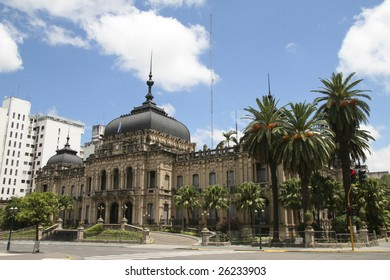 Government House of Tucuman provincial government in San Miguel de Tucuman. In this Argentinian city independence was declared by the first Argentinian congress from Spain in 1816.