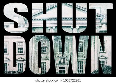Government Shutdown, Money and Politics