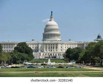 The governmental building - a symbol of the USA