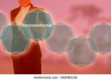 GOVERNMENTAL - technology and business concept