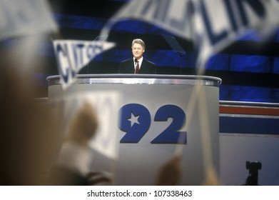 Governor Bill Clinton's nomination speech at the 1992 Democratic National Convention at Madison Square Garden