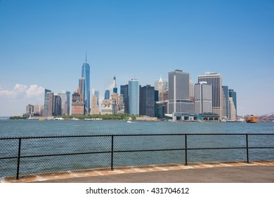 From Governors Island / Governors Island and Manhattan / From Governors Island, we can see lower Manhattan