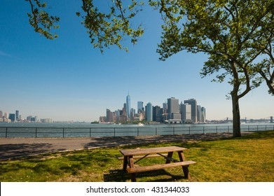 Governors Island New York City / Governors Island / From Governors Island,we can see Manhattan and Jersey city.