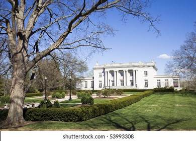 Governor's Mansion in Frankfort, Kentucky. State Capitol complex.