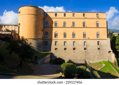 The Governors Palace in the citadel, Bastia, Corsica, France