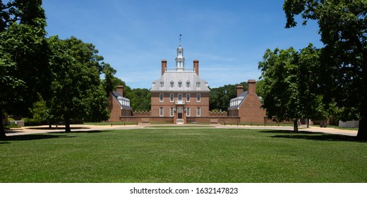The Governor's Palace in Colonial Williamsburg.