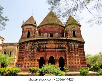 Govinda Temple, Krishna Tempel, Puthia, Bangladesh