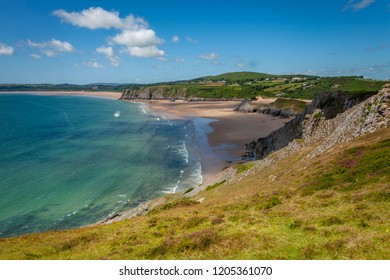 Gower or the Gower Peninsula is in South Wales. It projects westwards into the Bristol Channel and is the most westerly part of the historic county of Glamorgan.