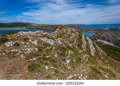 Goweror the Gower Peninsula is in South Wales. It projects westwards into the Bristol Channel and is the most westerly part of the historic county of Glamorgan.