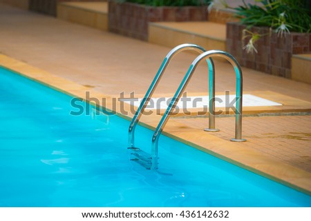 Grab Pool Swimming Pool Stock Photo (Edit Now) 436142632