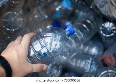 Grabbing a bottle