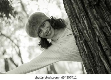 Seductive mature woman hairy