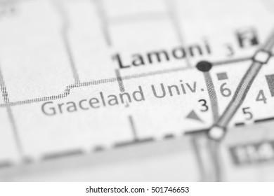 Graceland University. Iowa. USA.