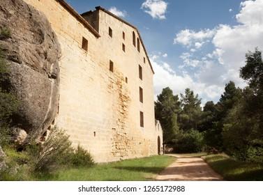 Gracia virgin conent. La Fresneda. Teruel province. Spain