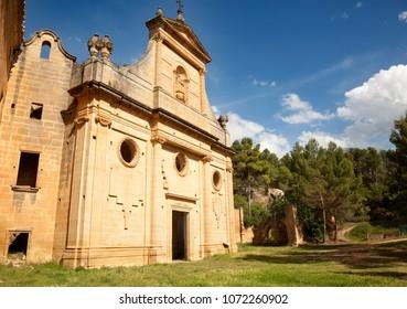 Gracia Virgin Convent. La Fresneda. Teruel province