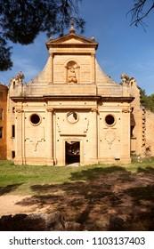 Gracia Virgin Convent. Teruel province. Spain