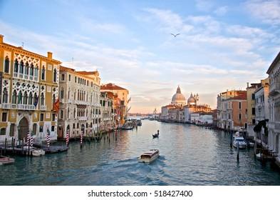 Grad Canal in Venice, Italy
