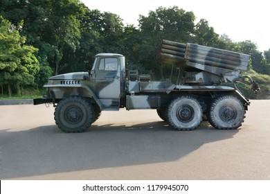 """Grad rocket launcher BM-21 """"Grad"""""""