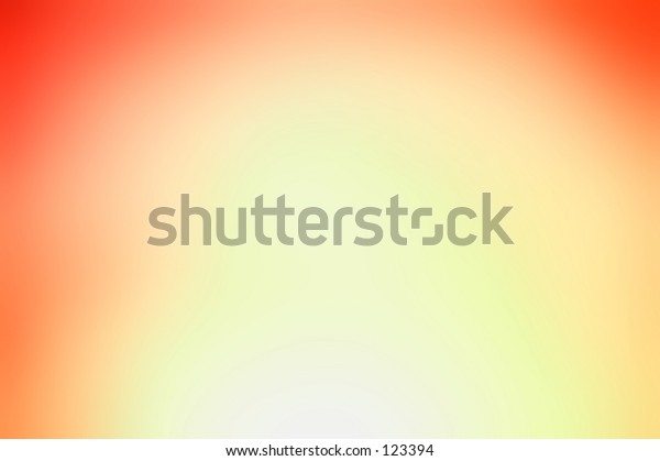 Gradation background abstract of red and yellow colored lights