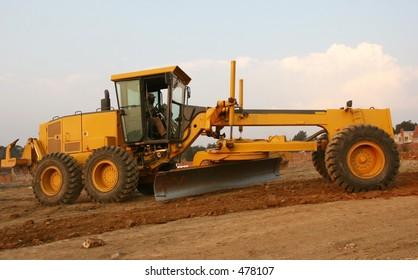 Grader Heavy earth moving equipment
