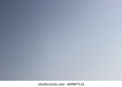Gradient blue sky texture. Abstract background.