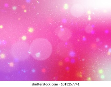 gradient color background with bokeh and glitter shine