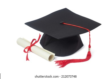 graduation cap and diploma images stock photos vectors shutterstock rh shutterstock com Diploma Scroll Diploma Clip Art