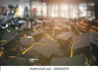 Graduation day. Commencement day.  Education Concept.