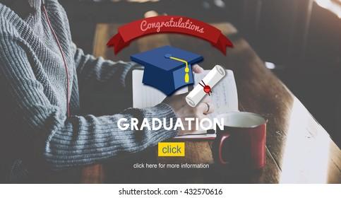 Graduation Graduate Education Academic College Concept
