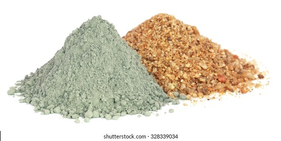 Grady cement powder with gravel as construction material
