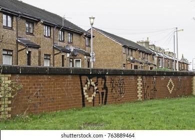 graffite on wall