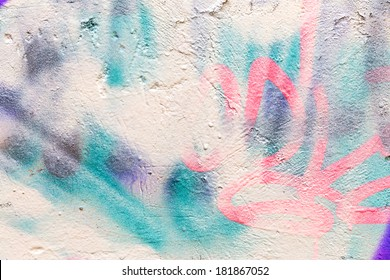 Graffiti Abstract Creative Background Color